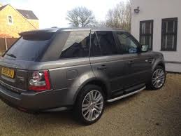 black land rover interior 2010 range rover sport hse stornaway grey black leather interior