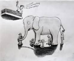 Poem The Blind Man And The Elephant Buddhism Andy Wrasman