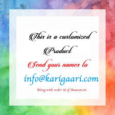 buy karigaari wooden family name plate online at low prices in