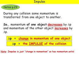 higher physics u2013 unit u2013 momentum and impulse ppt download