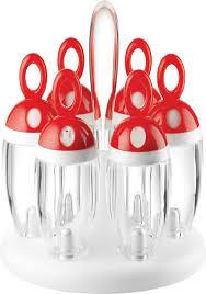portaspezie guzzini portaspezie girevole rosso my kitchen guzzini