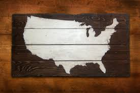 wooden united states wall great united states map wall 76 in be still and that i am
