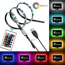best buy led light strips vansky led strip lights bias lighting strip for hdtv usb powered