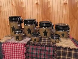 primitive kitchen canisters 22 best primitive canister set images on primitive