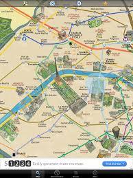 Paris Map Metro by Map Of Paris France Landmarks New Zone