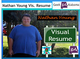 Best Resume Visual Presentation by Nathan Young Geek Alabama Visual Resume U2013 Geek Alabama