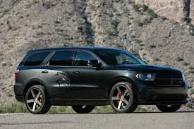 dodge durango someone built a durango hellcat because dodge won u0027t