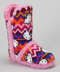 kitty slipper boots kitty tall bootie slippers