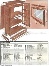 Furniture Plans Bookcase by Barristers Bookcase Plans U2022 Woodarchivist