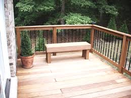 images of bench seats for decks black aluminum post caps on