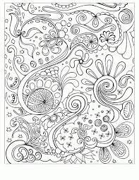 Hard Flower Coloring Pages - free floral printable coloring page from filthymuggle com