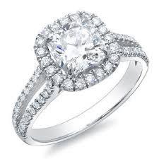 cushion cut split shank engagement rings 3 67 ct halo cushion cut split shank engagement ring h