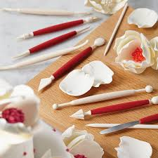Decoration Fondant Cake Amazon Com Cake Boss Decorating Tools 10 Piece Fondant And Gum