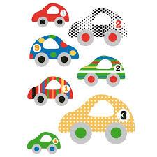 stickers pour chambre d enfant sticker mural voitures motif enfant garçon pour chambre d