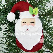 santa ornament sewing tutorial diy stitched
