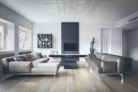 minimalist contemporary interior in milan