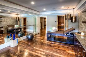 ideas recessed lighting and mirrored walls with wood floorings