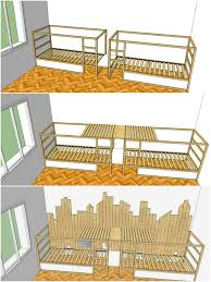 Building Plans For Triple Bunk Beds by
