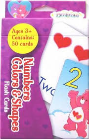 care bears flash cards number colors u0026 shapes learning horizons