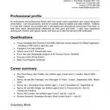 nanny resume template nanny resume sles fresh 14 fresh nanny resume sles resume
