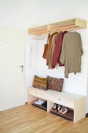 diy garderobe ideen tolles garderobe selber bauen schoner wohnen garderobe