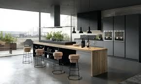 cuisine comtemporaine table de cuisine contemporaine grande cuisine moderne avec arlot en