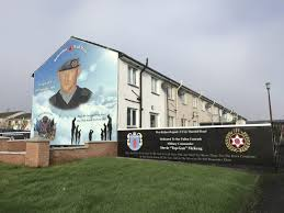 these murals lie at the center of a debate over northern ireland s stevie top gun mckeag is believed to be responsible for at least 12