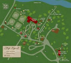 Virginia Map Showing Attractions Amp Accommodation by Visit Colonial Sotterley Plantation Walking U0026 Audio Tours