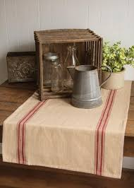 table and mantel linens