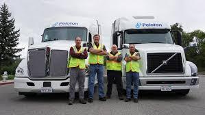 2017 volvo semi truck peloton u0026 omnitracs plan semi truck platooning technology rollout