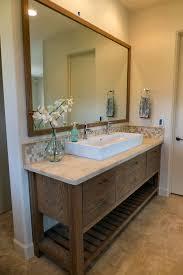 Open Shelf Bathroom Vanities Open Vanities For Bathrooms Gray Stained Wooden Vanity Dressing