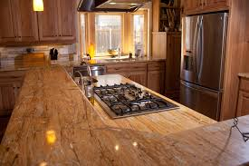 Kitchen Granite Countertops by Fresh Artificial Countertop Materials 3504