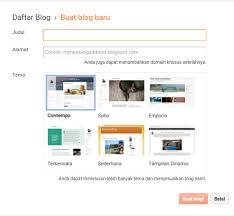 cara membuat blog yang gratis cara membuat blog gratis di blogspot ian share