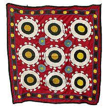 Suzani Fabric Chair Suzani Textile Wikipedia