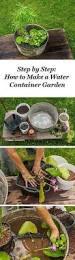 how can i make a mini pond in a pot bath gardens and garden ideas