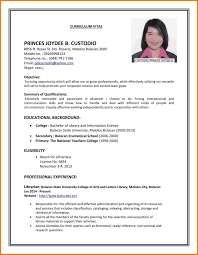 Basic Job Resume by How To Make A Job Resume Resume For Your Job Application