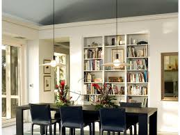 dining room to office half vaulted ceiling u2013 contemporary home office by jim tetro