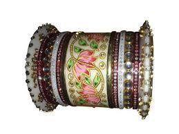 wedding chura bangles bridal chura at rs 4500 pair fancy bangles k m maniar
