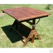 Vintage Hamilton Drafting Table Cost To Ship Hamilton Usa Wood Drafting Table Old Vintage Adjus