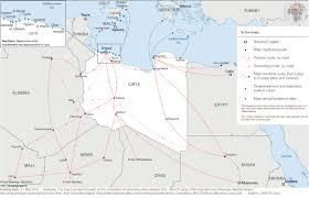 Map Of Libya Crisis Analysis Of Libya Acaps