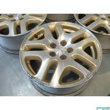 subaru legacy wheels subaru legacy 4 silver gold wheels 1 has rash r18081