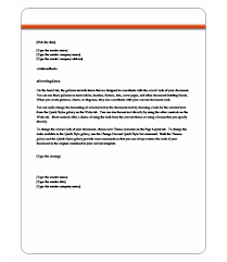 10 best images of memo letter template microsoft word sample