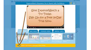Web Expense Reporting by Expense Reporting With Expensewatch Create U0026 Submit Expense