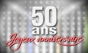 texte anniversaire de mariage 50 ans carte 50 ans un demi siècle cybercartes