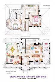 plan amazing floor plan for home the gilmore girls victorian house