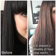 lighten you dyed black hair naturally vitamin c hair color remover reviews photos makeupalley