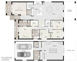 Simple Small House Plans Floor Plan Furniture Floor Coverings And Landscaping Not Included
