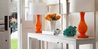 Turquoise Entry Table by How To Style An Entryway Table Huffpost