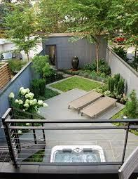 small backyard small back garden walled garden small yard
