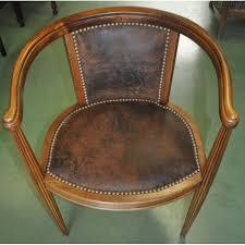 petit fauteuil de bureau petit fauteuil de bureau époque déco en noyer